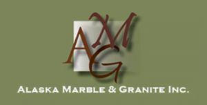 Alaska Marble and Granite logo