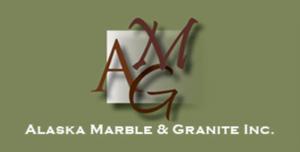 Alaska Marble and Granite logo