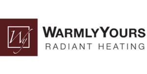 Warmly Yours Radiant Heating logo