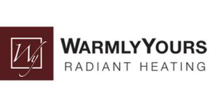 Warmly Yours Radiant Heating logo