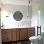 Master Bath remodel example - Kitchens by Design Anchorage